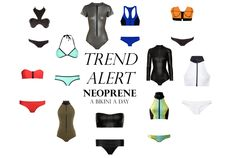Neoprene swimwear trend