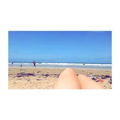 Soaking up the rays.  #beach #anglesea #sun #sand #sea #surf #legs #waves #beautiful #summer2k16 #summer #2k16 #2016 #love #potd #photooftheday #instagram #instadaily #instagrammer by allysonstewart_official http://ift.tt/1KosRIg