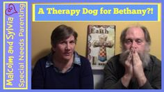 Are we considering getting a #therapydog for Bethany? #specialneedsteen #autisticteen #specialneedsparenting #CanineTherapy