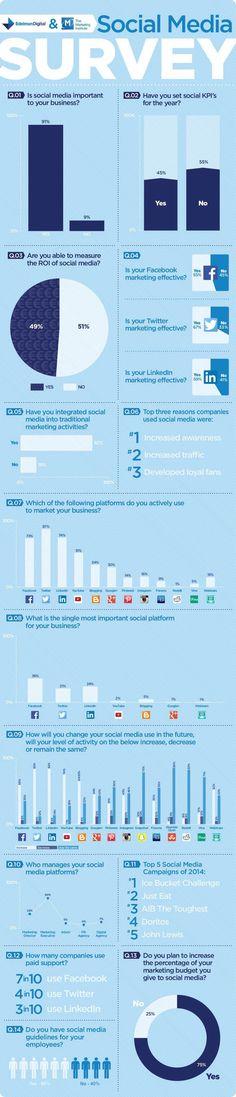 Edelman Social Media Survey #SocialOutlook15  http://www.edelman.ie/social-media/