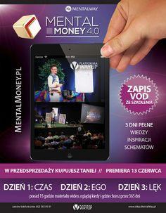 Nie mogłeś być z nami fizycznie w Kaliszu? Obejrzyj zapis VOD!  Premiera zapisu VOD całego szkolenia MentalMoney 4.0 już 13.06.2014. Kupując w przedsprzedaży - płacisz mniej - tylko 150 PLN!   Wejdź na stronę: http://bit.ly/mm4-promocja-vod