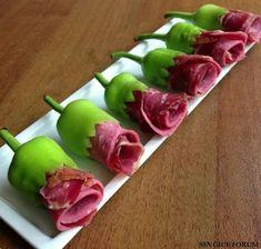Cute Food, Good Food, Yummy Food, Food Carving, Food Garnishes, Garnishing, Food Displays, Food Platters, Meat Trays