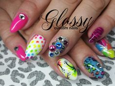 Most of them are Gel and Acrylic artificial nails but you might catch a few natural ones. Some Designs are hand painted and others are. Artificial Nails, Hand Painted, Gallery, Flowers, Painting, Beauty, Painting Art, Paintings, Cosmetology