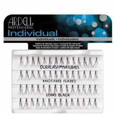 Ardell Duralash Naturals Flare Long Black (56 Lashes) (3 Pack) * Click on the image for additional details. (This is an affiliate link and I receive a commission for the sales)