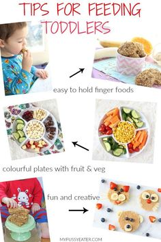 Top Tips for Feeding Toddlers and How To Encourage Them To Try New Foos
