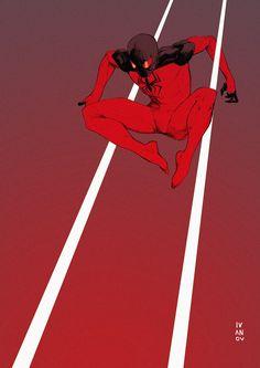 Scarlet Spider by Dima Ivanov