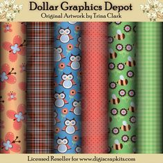 All Creation 1 - Scrap Papers - $1.02 : Dollar Graphics Depot, Your Dollar Graphic Store