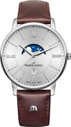 cbddf1e0061 Maurice Lacroix Mens Eliros Moonphase Collection is an uncomplicated