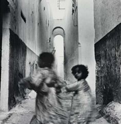 Irving Penn, Moroccan Running Children, (Rabat), 1951. Gelatin silver print, printed before 1959
