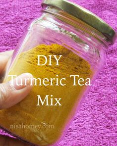 Cooking Is Easy: Turmeric Tea Mix Recipe For Weight Loss - Homemade. - tea - Cooking Is Easy: Turmeric Tea Mix Recipe For Weight Loss – Homemade… Informations About Cooking - Tumeric Tea Recipe, Turmeric Drink, Turmeric Recipes, Turmeric Tea Benefits, Turmeric Water, Tea Mix Recipe, Tea Powder, Fat Burning Detox Drinks, Liver Detox