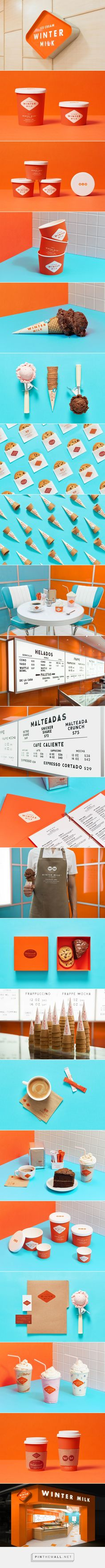 Branding, Packaging & Interiorism — Winter Milk | Anagrama... - a grouped images picture - Pin Them All