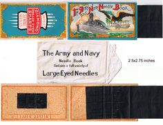 I'm selling ANTIQUES: Needle Set from World War One? - $10.00 #onselz