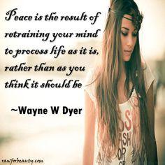 Peace ~ Dyer