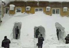 Winter Newfoundland and Labrador/ remind me not to visit in winter