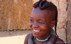 Himba girl in #Namibia #Himba #Africa
