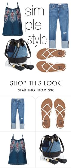 """""""Untitled #47"""" by sprolsvtt on Polyvore featuring Zara, Billabong, Monsoon and See by Chloé"""