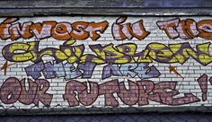 Youth Centre Graffiti in Moss Side