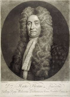 Sir Hans Sloane, an engraving from a portrait by T. Murray.