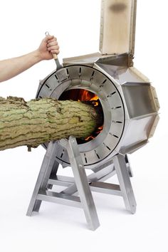 Spruce Stove for outside — Michiel Martens