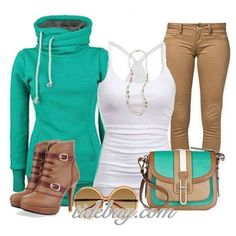 For the days you just want to look cute at school but too lazy to show it, minus the purse and sunglasses ~Maleana Zwolak~