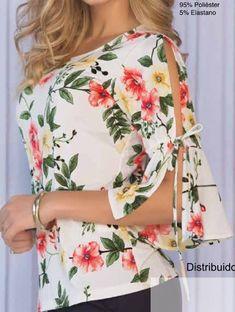 Floral Tops, Girls Dresses, Sleeves, Women, Fashion, Jean Skirts, Pure Beauty, Ruffles, Women's Blouses