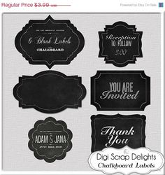 Digital chalk frames chalkboard clip art clipart decorative digital chalk frames chalkboard clip art clipart decorative border craft diy invitations commercial use do it yourself today pinterest solutioingenieria Images