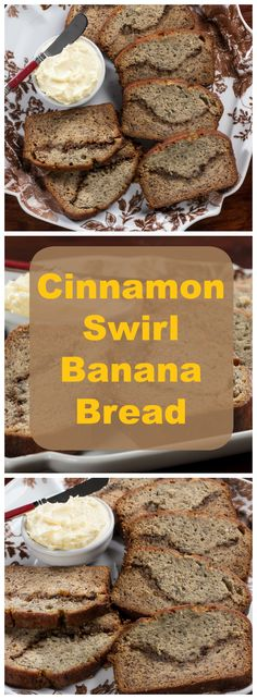 This banana bread recipe has it all: chocolate chips, walnuts, and a delicious cinnamon swirl. You just have to decide whether it's good for breakfast or dessert!