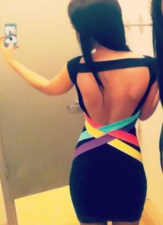 This really isn't my style now that I'm not 22 anymore, but the back is amazing...