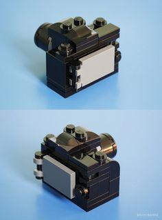 New Tiny LEGO DSLR Back | Flickr - Photo Sharing!