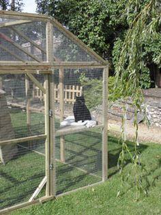 Outdoor Cat Play Pen | Cat House | Cat Run
