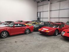 The Aladdin's cave of classic cars: £20million treasure trove of 27 vehicles is sold in one of Britain's biggest ever deals