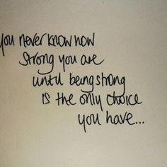 Inspirational Quotes About Strength In Hard Times