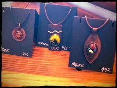 Artisan glass and copper jewelry. Available now at THE WHITE STAG  in downtown Matthews, NC. www.thewhitestagmatthews.com