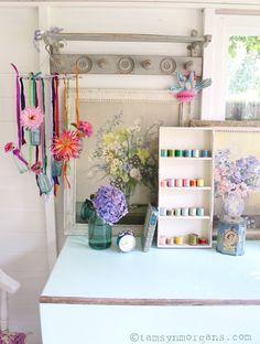 StylingThe Seasons - Farewell and Thank You! Shabby Chic Home, Vintage Home, Colour Inspirations, Summerhouse, DIY, Interiors, Floral, Dahlias, Hydrangeas