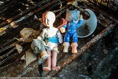 How The Dolls Of Pripyat Symbolize Its Eerie Fate Chernobyl Disaster, Sea Creatures, Abandoned, Culture, Dolls, Earth, Painting, Animals, Left Out
