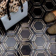 tile flooring Ivy Hill Tile Gyre x Marble Mosaic Tile Color: