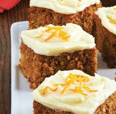 Spelt Carrot Cake with Pineapple, Raisins and Coconut