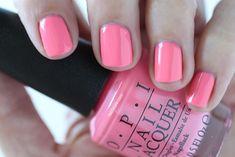 OPI Giveaway - OPI Retro Summer Collection Nail Flip Flops And Crop Tops Medium Pink Cream Nail Polish