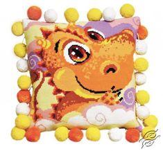 Cushion With Dragon - Cross Stitch Kits by RIOLIS - 1215