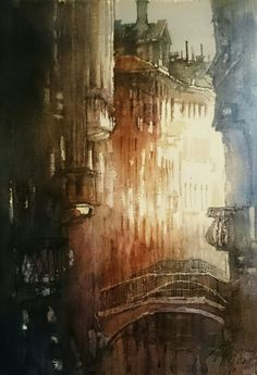 Venice- watercolour 50x33 cm,2015