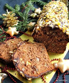 Jewish Gingerbread, very easy Polish Cake Recipe, Polish Recipes, Delicious Desserts, Dessert Recipes, Yummy Food, European Dishes, Biscuits, Christmas Baking, Christmas Cakes