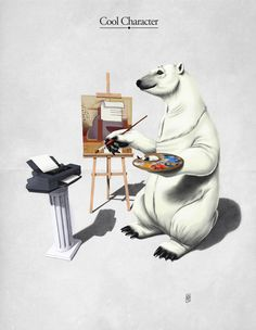 #5 of 5 The Untapped Behaviour by Rob Snow, via Behance This is the final digital render of the polar bear. Total rendering time was around 36 hours. http://www.behance.net/gallery/The-Untapped-Behaviour/8292181