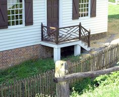 Colonial Williamsburg railing. photo by Jenny Komenda