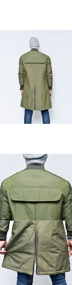 Cargo Pocket Long Flight Bomber-Jacket 114 - GUYLOOK