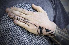 geometric patterns 2 - hand