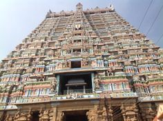 Tallest temple tower in India at Srirangam