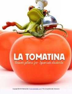 La Tomatina readings in Spanish and video activities: This product contains lesson plans and materials for a mini-unit on La Tomatina, an annual festival in Buñol, Spain. The materials are suitable for second semester Spanish 1 students and beyond. Spanish Basics, Ap Spanish, Spanish Culture, Spanish Teacher, Spanish Classroom, Classroom Ideas, Spanish Teaching Resources, Spanish Activities, Middle School Spanish