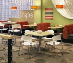 University Interior Design | CC Commercial Interior Design Baylor University Cafeteria Cafe Dining ...