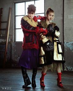 Hyea W. Kang for Vogue Korea September 2014 14 prada