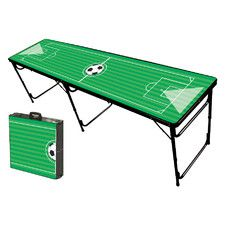 Soccer Field Folding and Portable Beer Pong Table